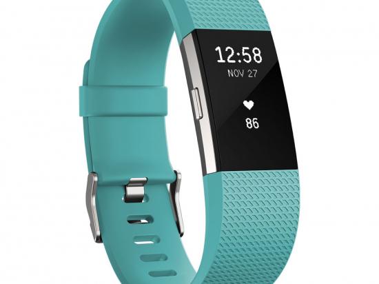 Fitbit Charge 2, türkiz kék