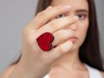 Handrea szivecskés gyűrű