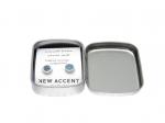 New Accent kék csiszolt beton fülbevaló