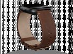 Fitbit Versa bőrszíj, barna